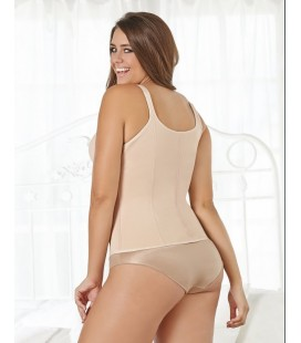 Lined Shaper Strips Vest