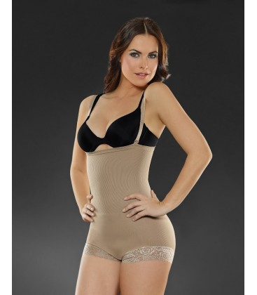Seamless Strapless Hip Hugger Biocrystales