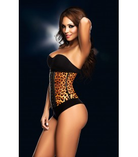 Sport latex Girdle Animal Print